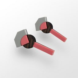 SUI_jewellery_earrings_vea roundrectangle_pink