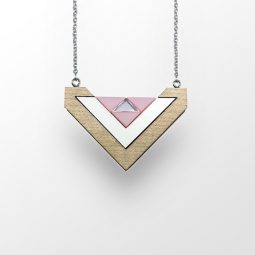sui_zwhit maple wood_acrylic_necklace-heart_silver- chain_1